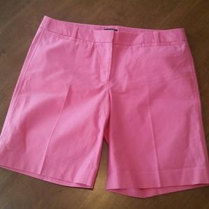 J. Crew stretch low fit pink bermuda shorts size 6